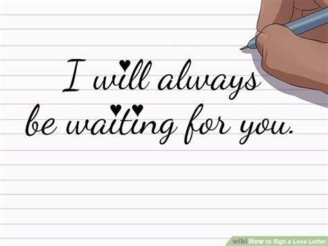 ways to sign a letter how to sign a letter 14 steps with pictures wikihow 50314