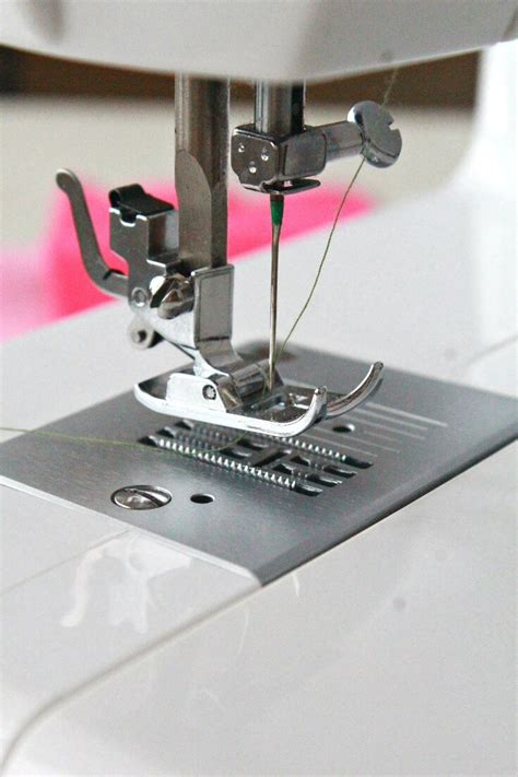 sewing machine presser foot adjustment easy beginners tips