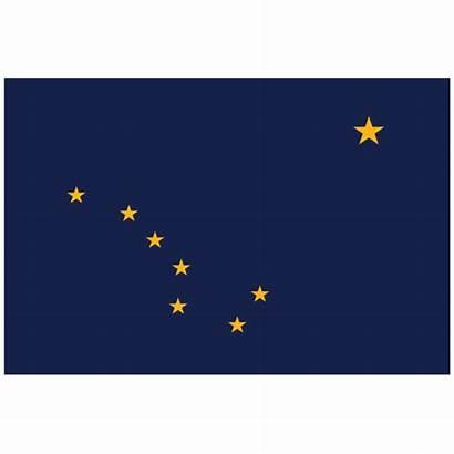 Flag State Alaska Ak Sticker
