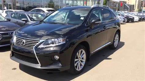 lexus black 2015 2015 lexus rx 350 awd black on saddle tan touring