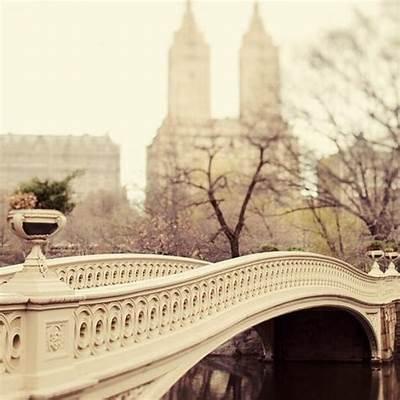 Bow Bridge in Central ParkNew YorkPinterest