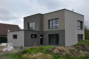 enduit facade arriere photo de construction notre With maison grise et blanche 16 page introuvable