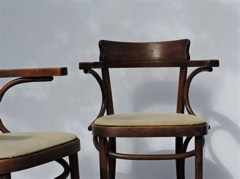 Classic Antique Thonet Bentwood Cafe Armchairs At 1stdibs