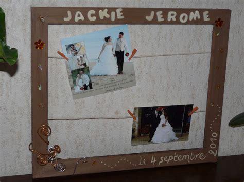 cadre mariage photo de notre mariage orange chocolat et beige une image de la