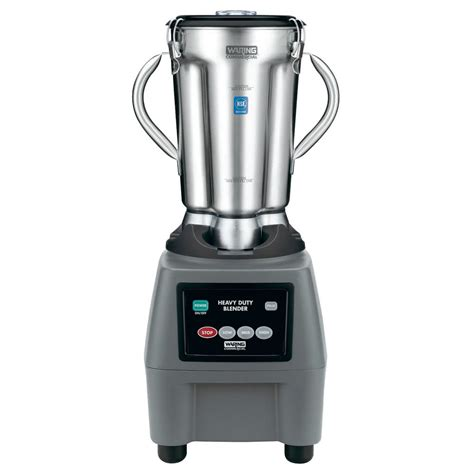 blender cuisine waring cb15 1 gallon stainless steel food blender