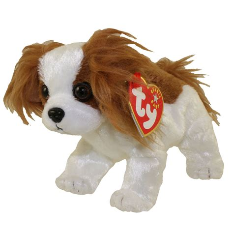 Ty Beanie Baby Regal The King Charles Spaniel Dog  Inch Bbtoystore Com Toys Plush