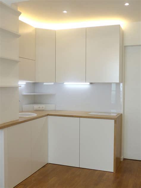 cuisine 3m2 optimisation un 28 m2 entièrement repensé architecture