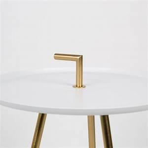 Table D Appoint Metal : table d 39 appoint m tal laiton rumbi by drawer ~ Teatrodelosmanantiales.com Idées de Décoration