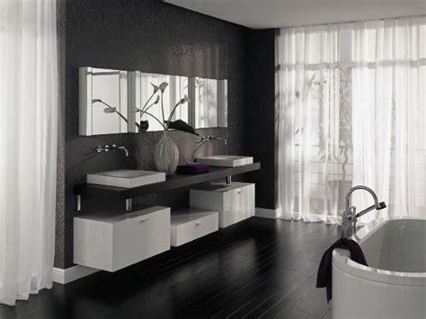 Badezimmer Schwarz Weiss Möbel