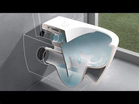video doortrekken villeroy hangend toilet villeroy en boch subway 2 0 wandcloset direct flush