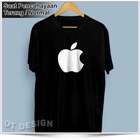 Tshirt Kaos Baju jual kaos baju distro tshirt apple glow in the kaos