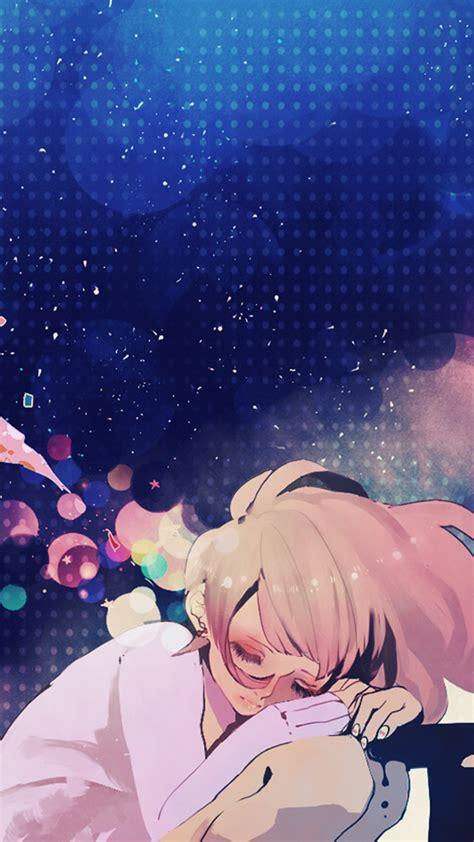 hd anime girl character dreams table wallpaper
