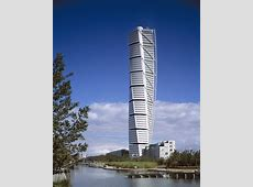 The stunning Turning Torso in Malmo, Sweden