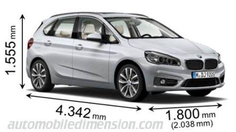 dimensioni  auto bmw  lunghezza larghezza  altezza