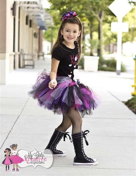 Riley Rockn Pirate Skull Rock and Roll Rock Star Tutu Outfit- Pop Star - Pirate Princess ...