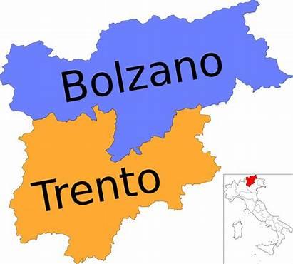 Trentino Svg Italy Tyrol South Provinces Region