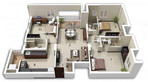 Smart Placement House Layout Ideas by 25 แปลนบ าน 3 ห องนอน ใช ได ท งบ านช นเด ยวและคอนโด
