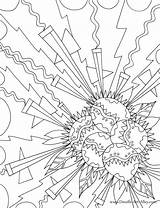 Coloring Explosion Adult Colouring Printable Geometric Pattern Designlooter Sheets Inside 959px 3kb sketch template