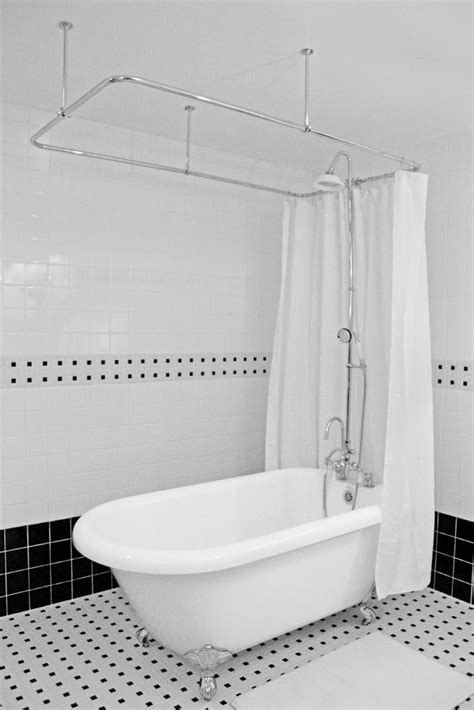 Shower For Clawfoot Tub by Hlfl56shpk 56 Quot Hotel Collection Classic Clawfoot Tub And