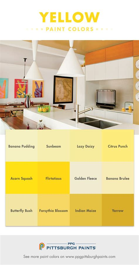 yellow paint color advice from ppg pittsburgh paints