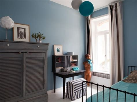 chambre deco bleu déco chambre bleu et taupe exemples d 39 aménagements