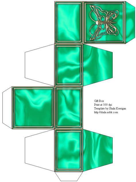 printable templatesgift box printable templates