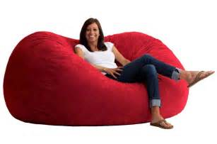giant bean bag chair lounger breakyourpiggybank