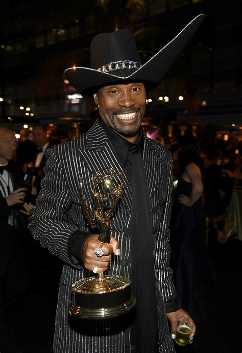 Billy Porter Already Has Spot Mind For His Emmy