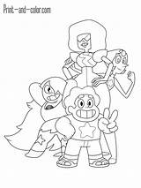 Universe Coloring Steven Pages Garnet Pearl Printable Gems Crystal Amethyst Drawings Steve Info 1200px 92kb Seven Presented Template sketch template