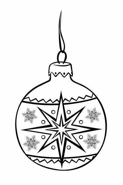 Coloring Christmas Pages Festive Balloon Tree Ornaments