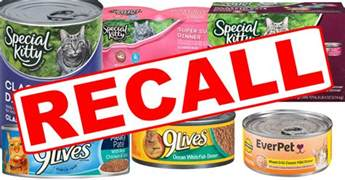 voluntary canned cat food recall in place kxro news radio