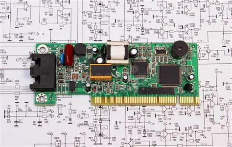 printed circuit board lying  diagram  electronics