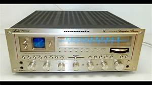 Marantz Model 2600 Stereo Receiver