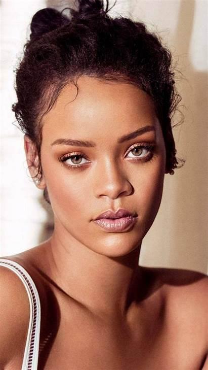 Rihanna Celebrity Singer Wallpapers Mobile Phone Face