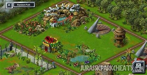 jurassic park builder decorations jurassic park cheats