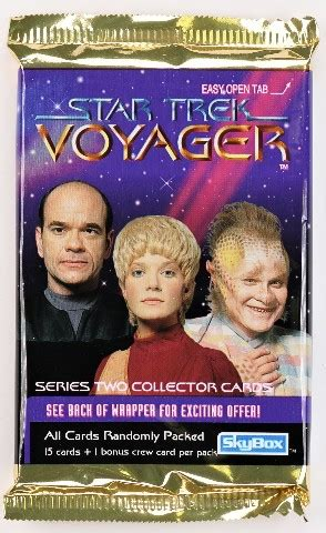 Maybe you would like to learn more about one of these? Vintage 1995 Skybox Star Trek Voyager Trading Cards