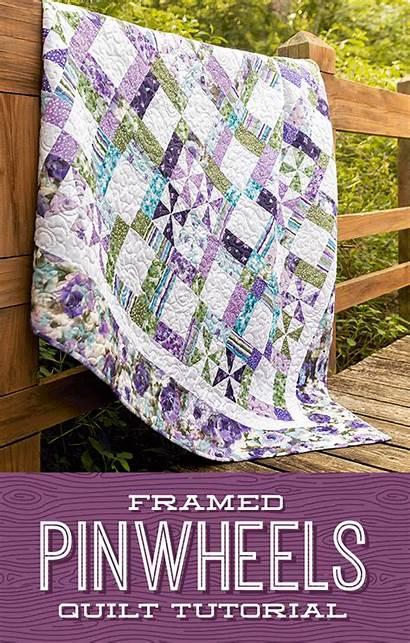 Quilt Pinwheel Missouri Jenny Pattern Quilts Tutorials