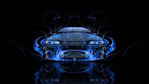 Mitsubishi Eclipse JDM Tuning Front Fire Car 2014 el Tony