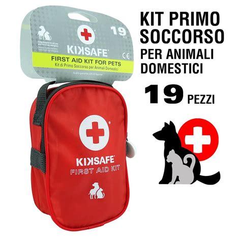 Cassetta Per Cani by Cassetta Pronto Soccorso Kiksafe Kit Emergenza Per
