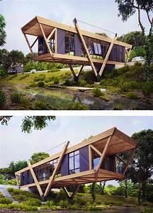 34 Esempi Di Case Moderne Design Esterno Pi U00f9 Popolare