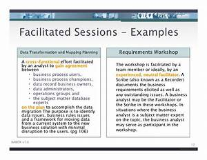 iiba facilitation skills for business analysis v2 With facilitation plan template