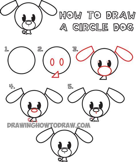 draw circle animals drawings art gallery