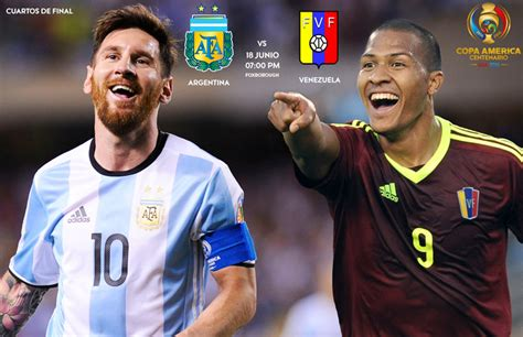 Argentina Vs. Venezuela, Toda La Magia Del Fútbol