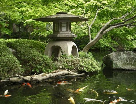 japanese garden koi pond for the garden