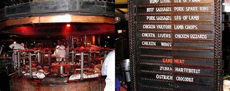 carnivore restaurant dining experience  nairobi kenya africanmecca safaris