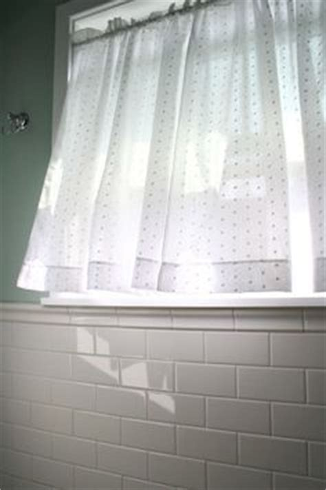 Dotted Swiss Kitchen Curtains by 1000 Ideas About Bathroom Window Curtains On Pinterest