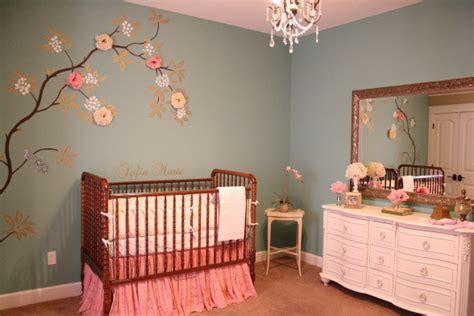 Girl Nursery Idea Shabby Chic