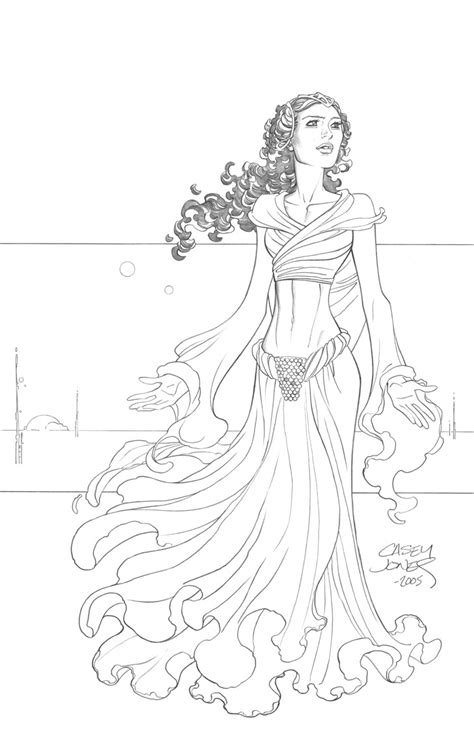 star wars coloring pages padme  coloring pages