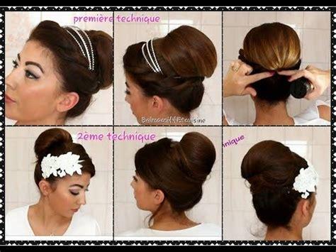 tuto coiffure chignon mariage chic et facile en 2 fa 231 ons avec explication wedding hair