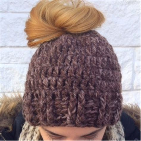 Freesvg.org offers free vector images in svg format with creative commons 0 license (public domain). Messy Bun Hat | Craftsy | Messy bun hat, Bun hat, Bun